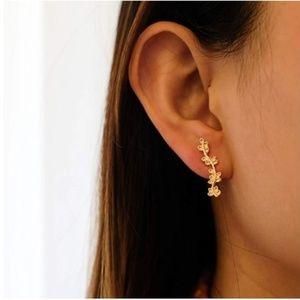 Leaf Branch Earrings